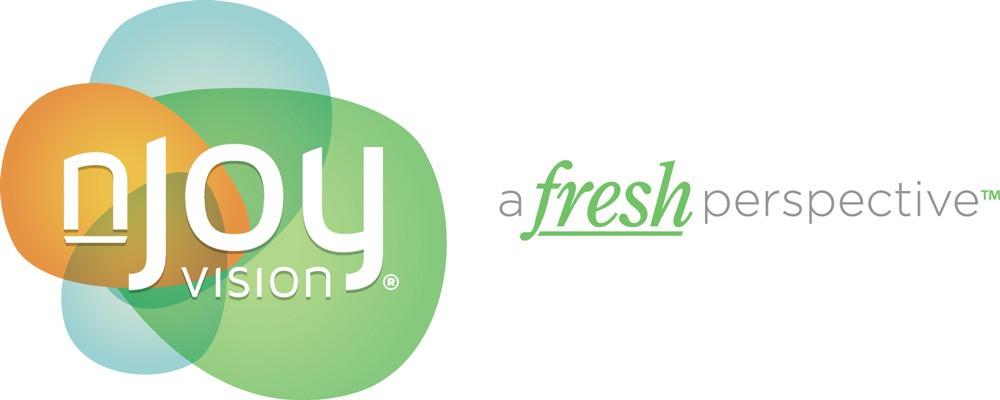 nJoy Vision logo